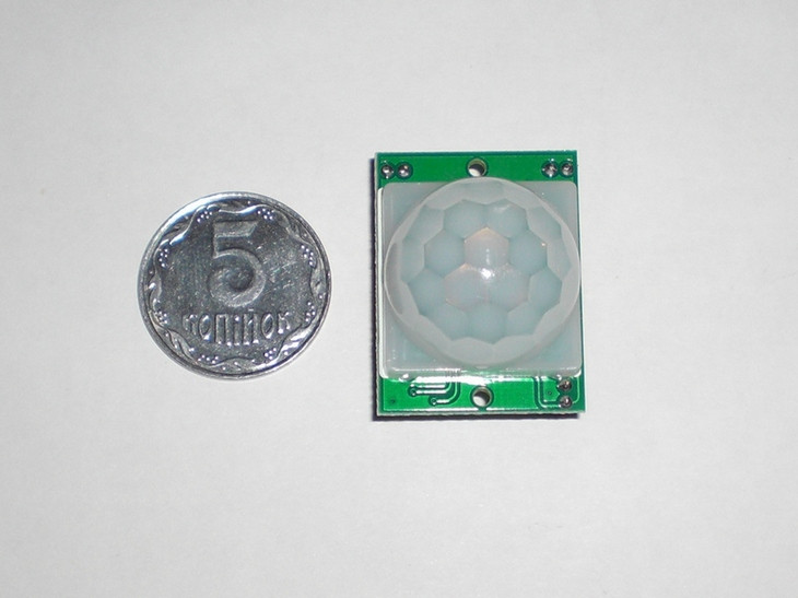 Инфракрасный датчик движения HC-SR501, 1шт.