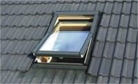 Окно мансардное OMAN EN с центр. осью и окладом KOF 78*140