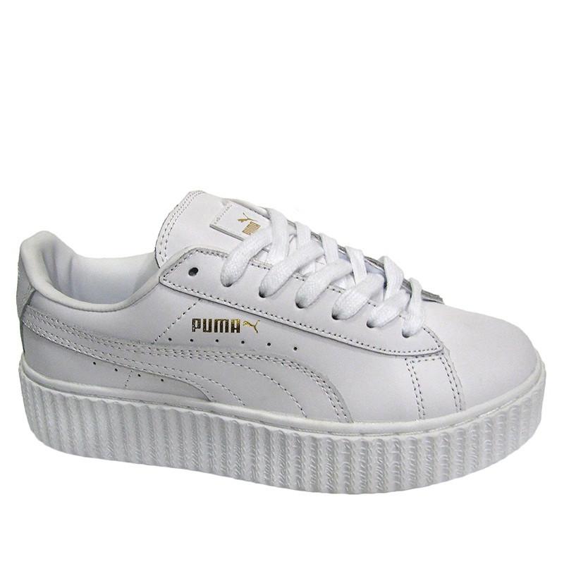 Кеды Puma Creeper Rihanna White Белые Женские Реплика — в Категории ... 741e7efb615