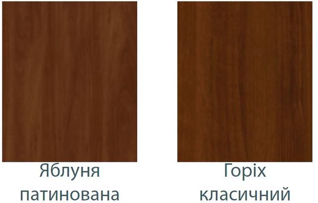 Цвет ДСП (яблоня патина, орех классик)