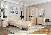 Модульная спальня Николь 1 цвет береза