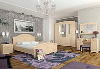 Модульная спальня Николь 2 цвет береза