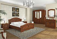 Модульная спальня Николь 3 цвет яблоня патиновая/орех классический