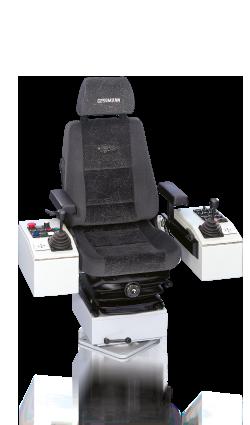 Крановые пульты управления (кресло-пульт), кресло крановщика W. GESSMANN GMBH (Гессманн)