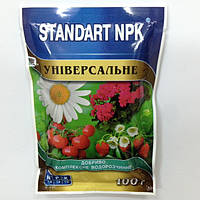 Комплексное водорастворимое удобрение STANDART NPK УНИВЕРСАЛЬНОЕ, 100 гр