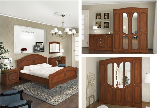 Модульная спальня Николь (элементы)