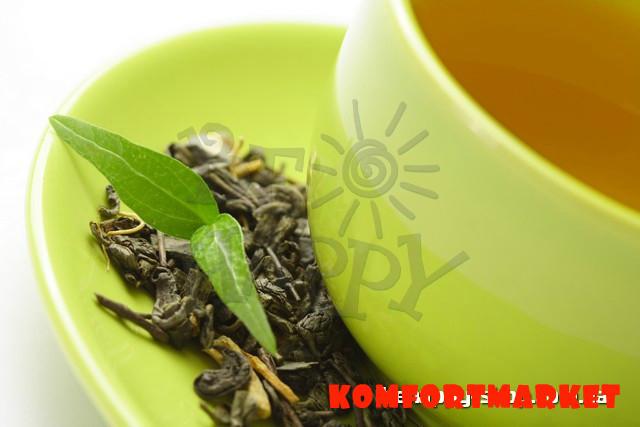 "Фотообои: ""Зелёный чай"""