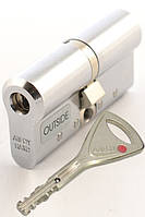 Цилиндр замка Abloy Protec 2 Hard  68мм (32Hx36) матовый xром  ключ-ключ