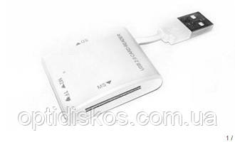 Ридер PowerPlant MS/SDHC/microSD Card Reader