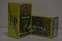 Зеленый чай Twistea крупнолистовой высшего cорта Саусеп пирамидки 20 штук
