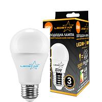 Светодиодная лампа LEDSTAR, 6W, 4000К, нейтрального свечения, цоколь - Е27, 2 года гарантии!!
