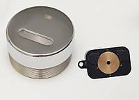 Защитная броненакладка для сувальдных замков врезная (хром) MR-02 DiSec