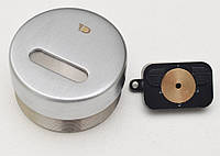 Защитная броненакладка для сувальдных замков врезная (матовый хром) MR-02 DiSec