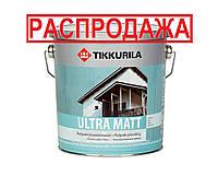 Краска латексная TIKKURILA ULTRA MAT для деревянных фасадов, С, 2,7л