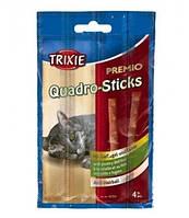 Палочки для кошек Premio Quadro-Sticks для кошек птица и печень 4х5гр 42724 Трикси 20 г