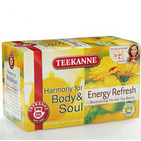 "Чай в пактиках Teekanne Родник єнергии""Energy Refresh""  20уп 35г Ханибуш-мята"