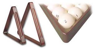Треугольники и лузы для бильярдных столов