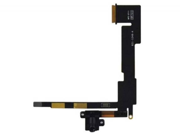 Шлейф для iPad 2 WiFi с коннектором наушников, фото 2