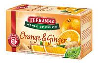 """Чай в пакетиках Teekanne """"Ginger-Orange"""" 20шт 35г Зеленый с имбирем и апельсином"""