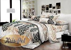 Двуспальный комплект постельного белья евро 200*220 хлопок  (6629) TM KRISPOL Украина