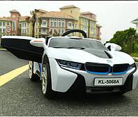 Электромобиль детский BMW 1888 (5068) белый***