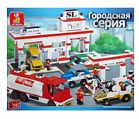 Конструктор Автосервис Sluban M38-B2900