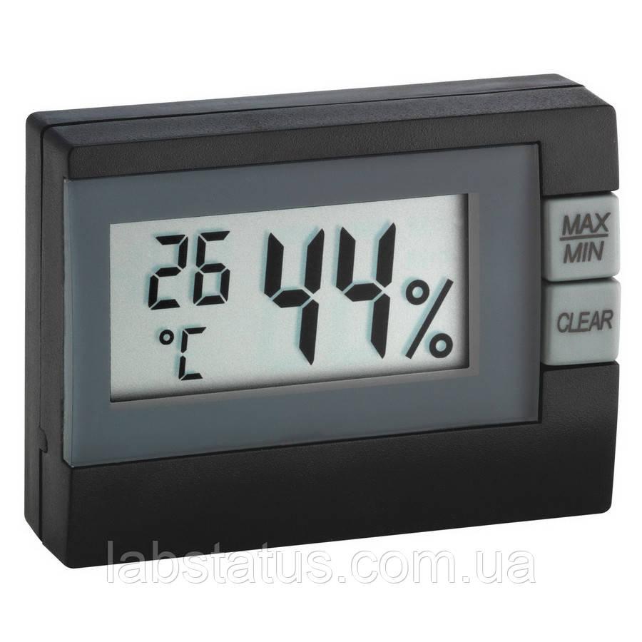Термогігрометр цифровий TFA 30500501, чорний
