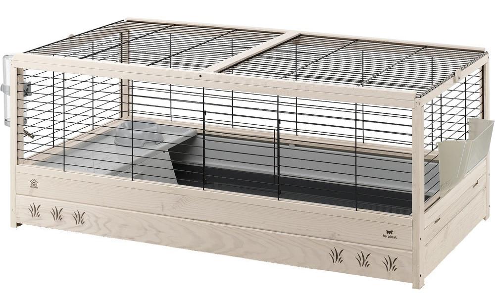 Ferplast Arena 120 Дерев'яна клітка для кроликів і морських свинок
