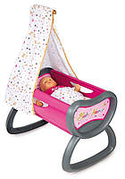 Кроватка колыбель для куклы Смоби Baby Nurse Gold Edition Smoby 220311, фото 1