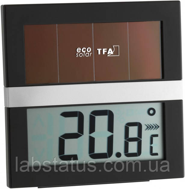 "Термогигрометр цифровой TFA 305017 ""ECO Solar"""