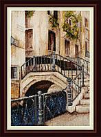 Набор для вышивания нитками Венецианский мостик