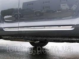 Хром молдинги на двери для Toyota Highlander 2008-2009