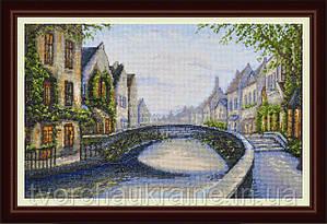 Набор для вышивания нитками Бельгийский город