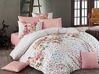 Двуспальное турецкое постельное бельё Majoli Sara v3Somon B08