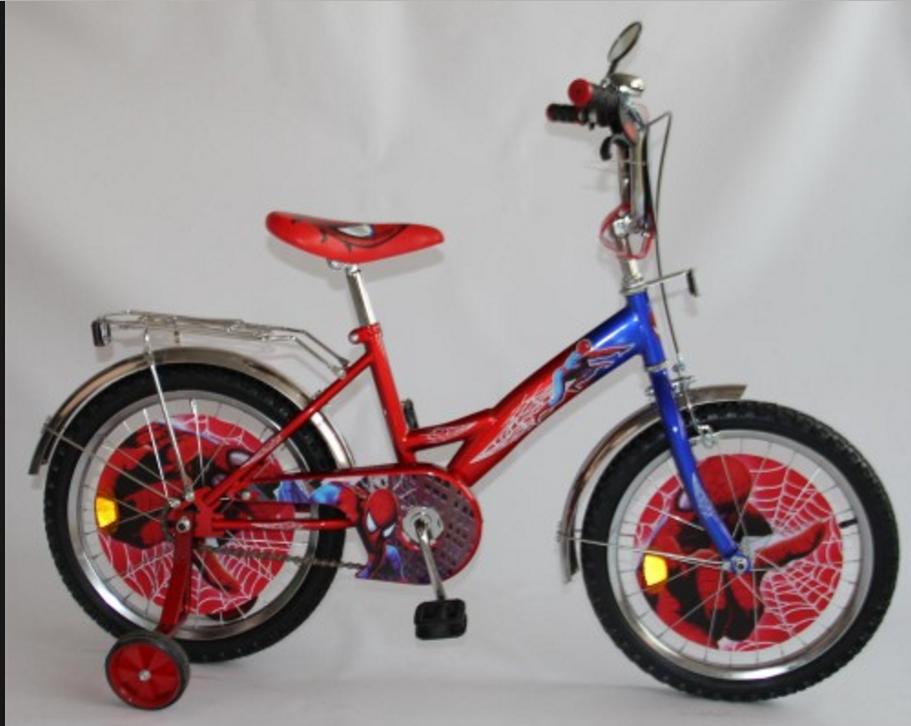 """Детский велосипед 18 BT-CB-0009, Человек Паук - Интернет магазин """"shopintex"""" в Харькове"""