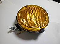 Фара передняя ФПГ-119 (пластиковая, желтая, галоген)