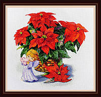 Набор для вышивания нитками Рождественский натюрморт