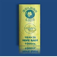 """Пакет Фасовочный полиэтиленовый 18х35 №9 """"Golden Lion"""""""