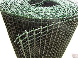Сетка пластиковая садовая. Ячейка: 13х13мм, Ширина: 1м, Длина: 20м.