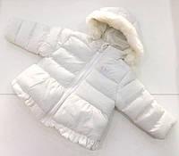 Детская демисезонная куртка для девочки на 6 - 18 месяцев