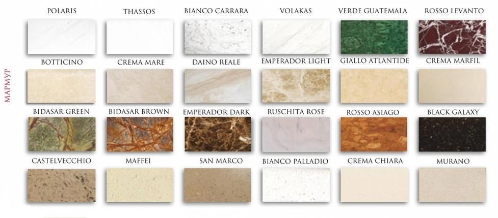 Портал для камина (облицовка) Глория из натурального мрамора Botticino + Emperador Dark, фото 2