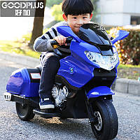 Детский электрический мотоцикл BMW 6606 синий ***