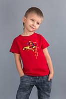 Футболка для мальчика «Super Cars»  (Красная)
