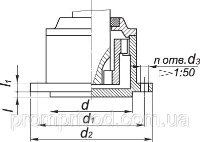 Вал в виде зубчатой полумуфты мотор редуктора МР3-315