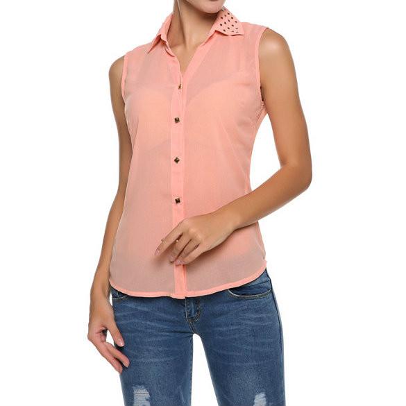 Женская блузка с открытой спиной