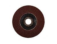 Шлифовальный лепестковый круг Бригадир Р36 125 мм 22,2 мм
