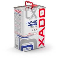 Синтетическое моторное масло XADO Luxury Drive 0W-40 SYNTHETIC