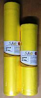 Простынь спанбонд 23 рулон 0,60м Х 100м  желтый