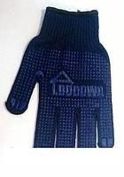 Перчатки х/б черные Budowa