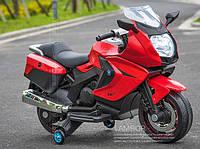 Детский электрический мотоцикл BMW FT-316 EVA-колеса